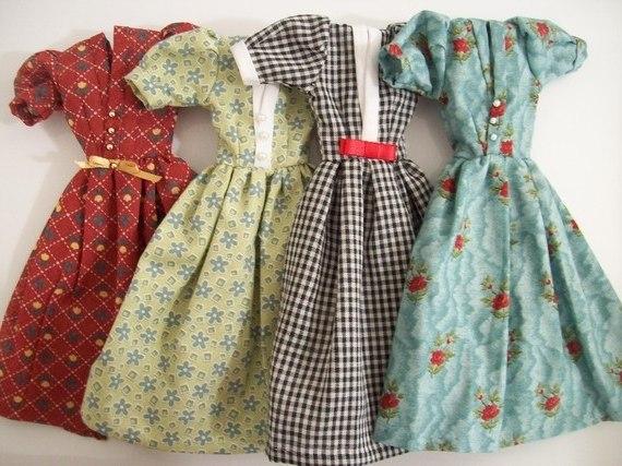 Платье на куклу своими руками сшить